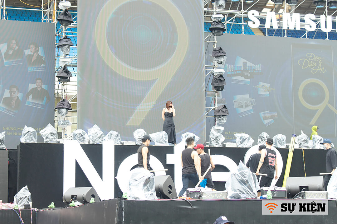 wifi sự kiện ra mắt Samsung Galaxy Note 9