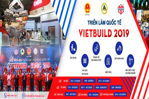 Triển lãm quốc tế Vietbuild 2019