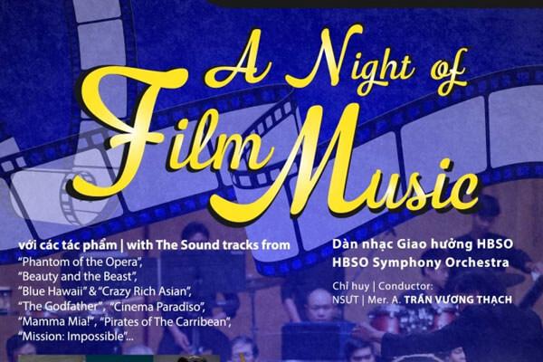 Đêm nhạc phim sống động không thể bỏ qua