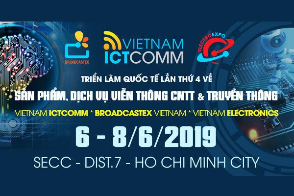 Triển lãm lớn nhất trong lĩnh vực Viễn Thông - ICTCOMM 2019