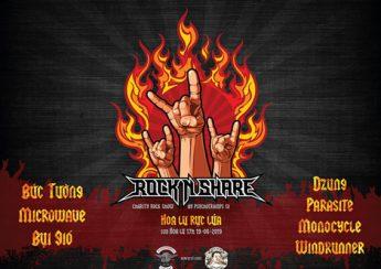 Rock'n'Share – Hoa Lư Rực Lửa - đêm hội vì trẻ em nghèo