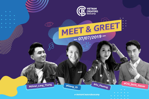Vietnam Creators Bootcamp ngày hội cho những nhà sáng tạo nội dung