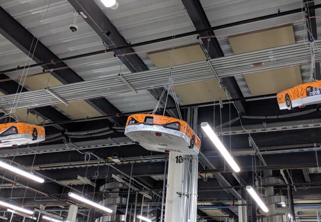 trụ sở kiểm soát hàng hoá của Amazon