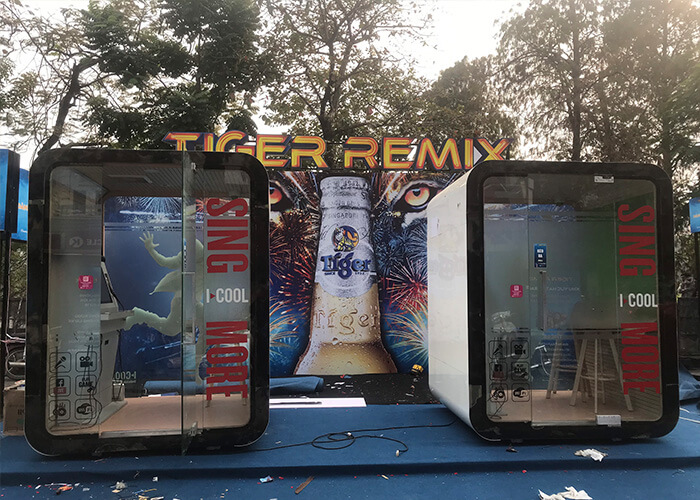 Gian hàng Karaoke của Tiger Remix 2020