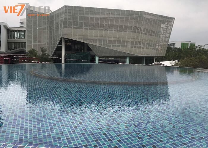Tòa nhà khối văn phòng của BUV