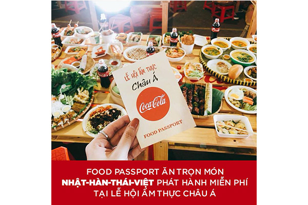Lễ hội ẩm thực châu Á cùng Coca-Cola