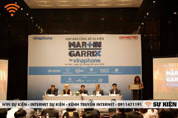 Wifi sự kiện âm nhạc Marin Garrix